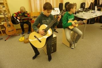 Gitarrenausstellung